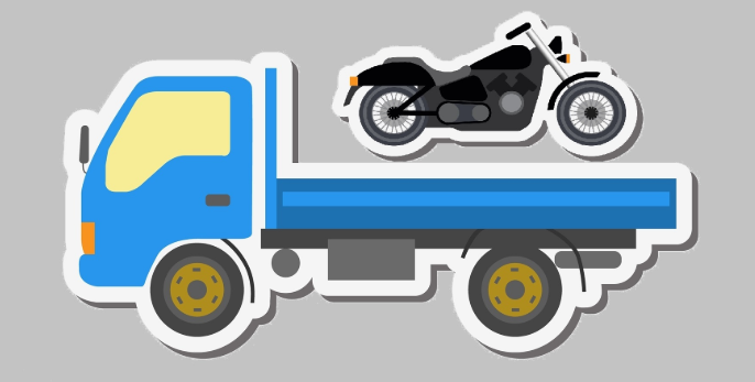 Different methods to perform motorcycle towing process